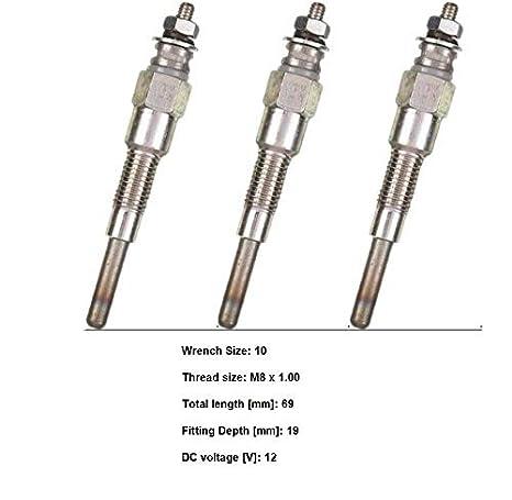 New Kubota G1800 G1800S G1900 G1900S G2160 Glow Plug