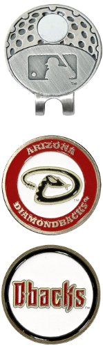 - Team Golf MLB Arizona Diamondbacks Golf Cap Clip with 2 Removable Double-Sided Enamel Magnetic Ball Markers, Attaches Easily to Hats
