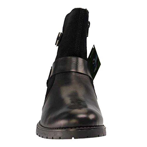 Botas Estilo Motero schwarz schwarz schwarz Mujer Remonte D8270 Negro Para COvwq5Ex