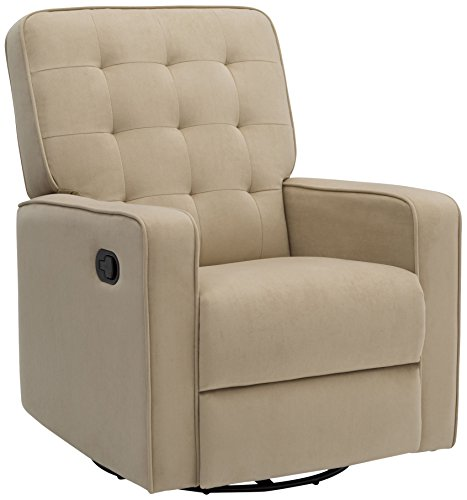 Delta Home W4528110C Grant Recliner Featuring LiveSmart Fabric by Culp, Adult, Sisal