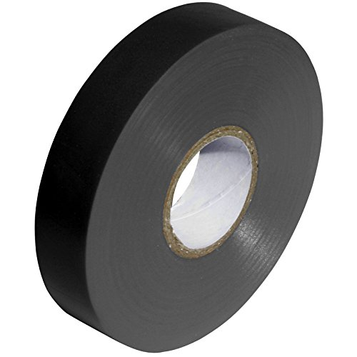 Black PVC Electrical Insulation Tape - 33m x 19mm - Large High Quality - Strong Roll by Gocableties
