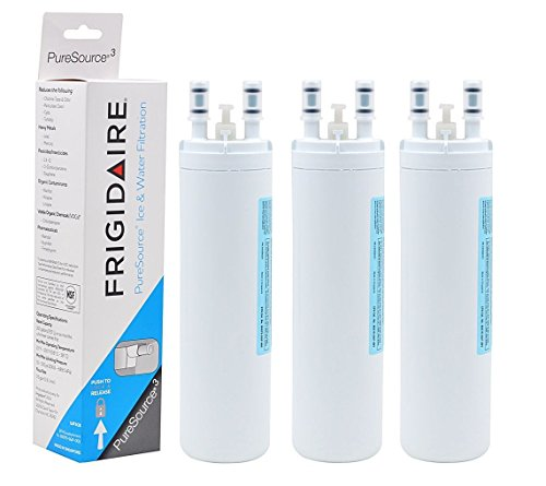 Watrure WF3CB Pure source 3 Replacement for Frigidaire WF3CB PuresourceRefrigerator Water Filter,Kenmore 469999 (3 Packs) by Watrure