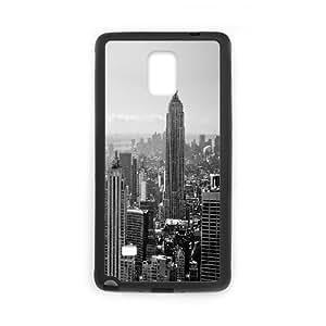 [New York2] New York City 2 Case for Samsung Galaxy Note 4, Samsung Galaxy Note 4 Case {Black}