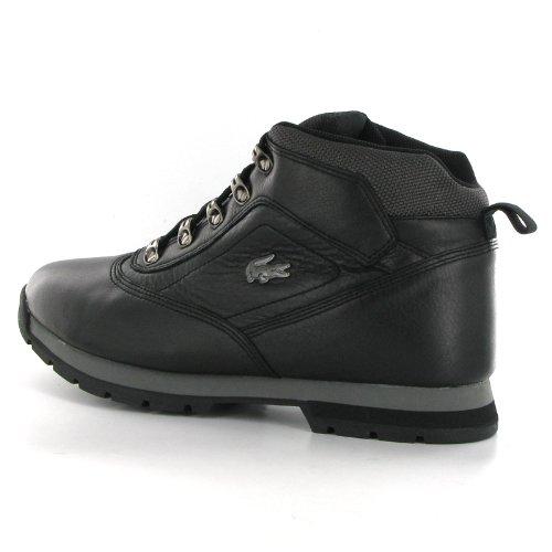 da56fd45f98908 Lacoste Horben Black Leather Mens Boots  Amazon.co.uk  Shoes   Bags