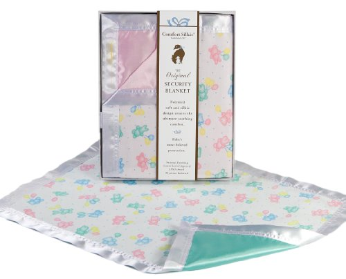 Comfort Silkie Satin (The Celebration Collection Security Blanket by Comfort Silkie ~ Pastel (Pink))