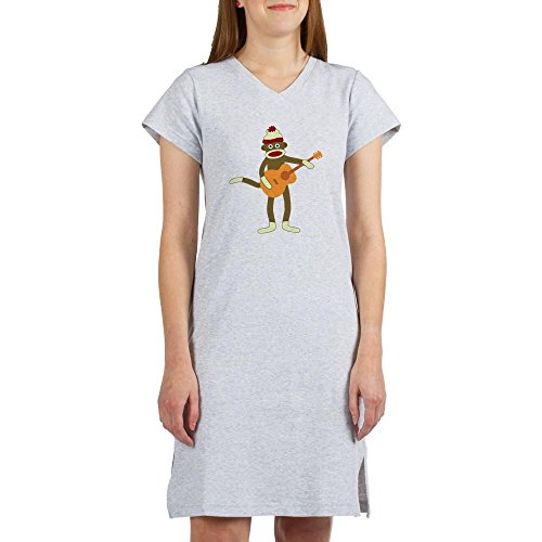 CafePress Monkey Acoustic Nightshirt Pyjamas