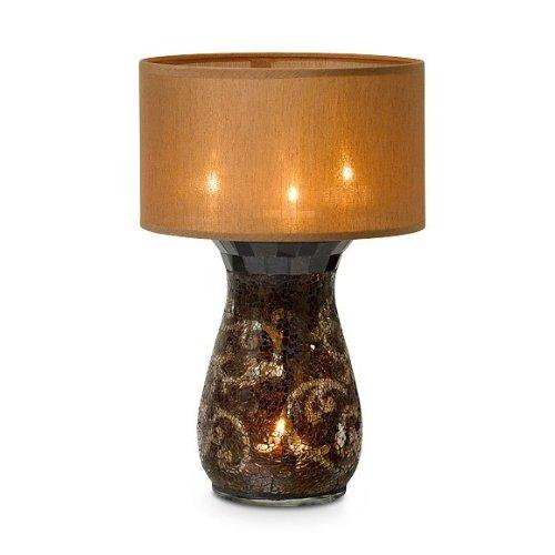 ONE Partylite AMARETTO SWIRL Multi Tealight Lamp