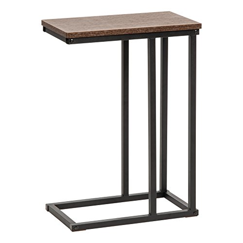(IRIS USA 596650 SDT-L Side Table, Brown)