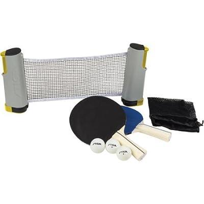 Stiga Retractable Table Tennis Net Set: Toys & Games