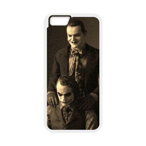 Batman Joker coque iPhone 6 Plus 5.5 Inch Housse Blanc téléphone portable couverture de cas coque EBDOBCKCO09187