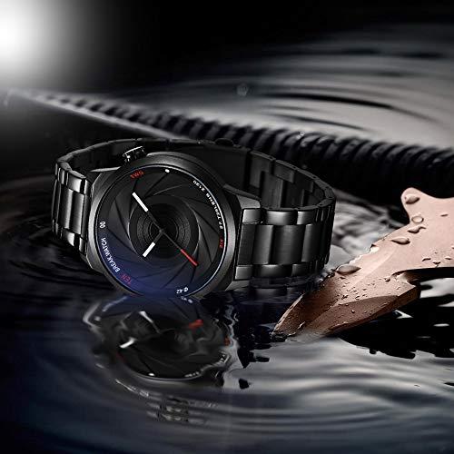 BREAK Relojes de Moda únicos Hombres Mujeres Unisex Design Photographer Series Reloj analógicos de Acero Inoxidable a Prueba de Agua: Break: Amazon.es: ...
