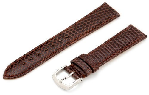 Hadley-Roma 18mm 'Women's' Leather Watch Strap, Color:Brown (Model: LSL715RB 180) -