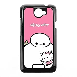 Fashion image DIY for HTC One X Cell Phone Case Black Baymax Big Hero 6 BAM2939313