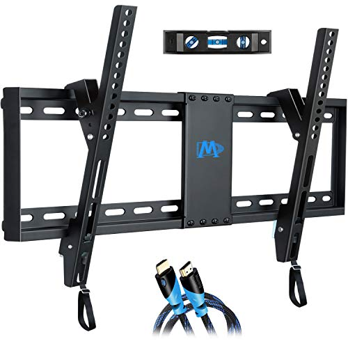 Low-profile large TV mount