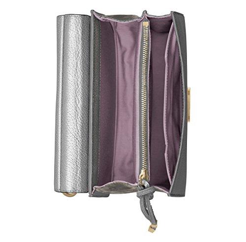 Marlene Tablet Mini, Cognac / Plumbeo Grey Silver / Plumbeo Grey