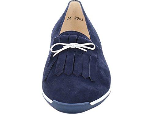 Kaiser On 18151 Vania Shoe Peter Suede Slip Navy Ud8T8wq