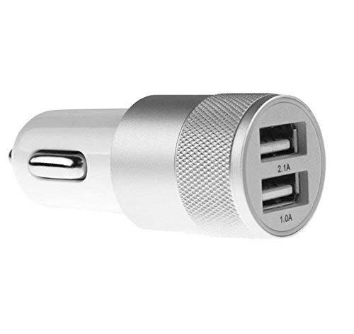 Gwill 3.1 A Cargador de Coche USB rápido Dual para iPhone 7 6S ...
