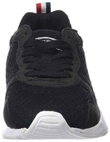 Black Noir Erwachsene Coq Sneaker Sportif Le Open Schwarz R600 Mesh Unisex LCS vwPdtZx