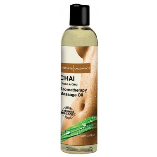 Huile de massage intime Organics Bloom - 4 oz pivoine rougissent