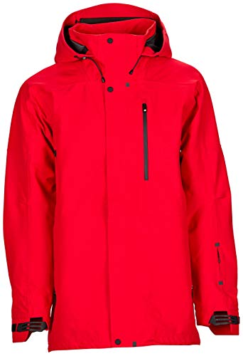 Bonfire Aspect 3L Stretch Jacket - Men's Red X-Large