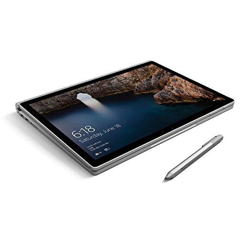 Microsoft Surface Book 9E2-00001 2-in-1 Laptop, Intel Core i7-6600U, 8GB RAM, 256GB SSD, NVIDIA GeForce GTX 965M (Renewed)