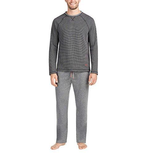 Tommy Bahama Men's 2-Piece Lounge Sleepwear Set (Grey, ()