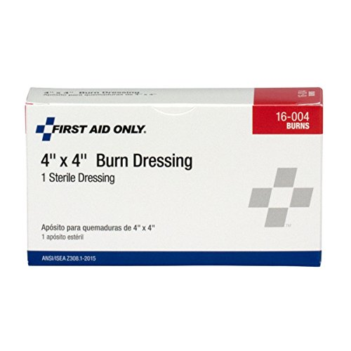 Pac-Kit by First Aid Only 16-004 Water Jel Burn Dressing, 4