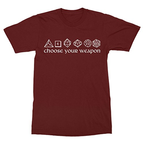 Choose Your Weapon Dice Shirt
