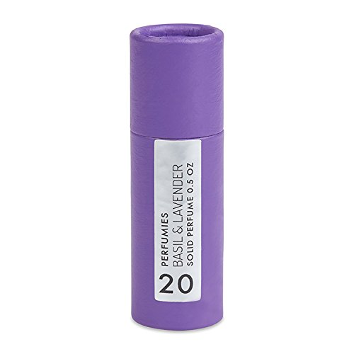 Perfumies Basil & Lavender Solid Perfume Stick No. 20 (Stick Solid Perfume)