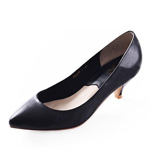 Chaussures Automne de A Chaussures avec Chaussures Pointues Peu Profonde nbsp;Coupe Mode WLJSLLZYQ nbsp; wFPxTxq