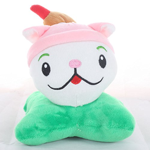 TavasHome Plants vs Zombies 2 PVZ Figures Plush Baby Staff Toy Stuffed Soft Doll 13cm-35cm Soft PP Cotton (Cattail)]()