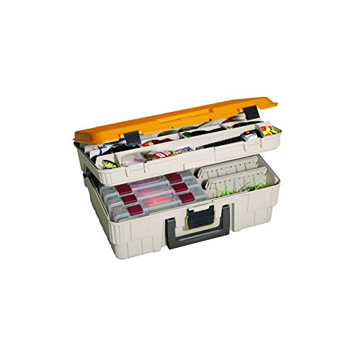 Plano Magnum Satchel (Includes 2 Tier Spinner Bait Racks)  sc 1 st  Nextag & Plano two level satchel tackle box | Fishing | Compare Prices at ... Aboutintivar.Com