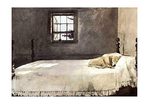 Spiffing Prints Andrew Wyeth - Master Bedroom - Small - Semi Gloss - Unframed