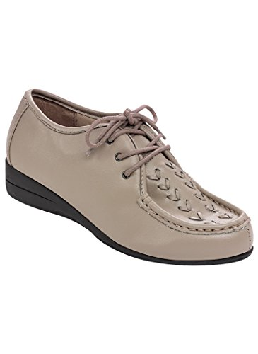 - AngelSteps Women's Adult Dasher Fashion Sneakers 7 Wide US Women/Taupe