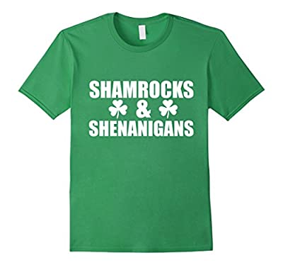 Shamrocks and Shenanigans Funny T-shirt Saint Patrick's Day
