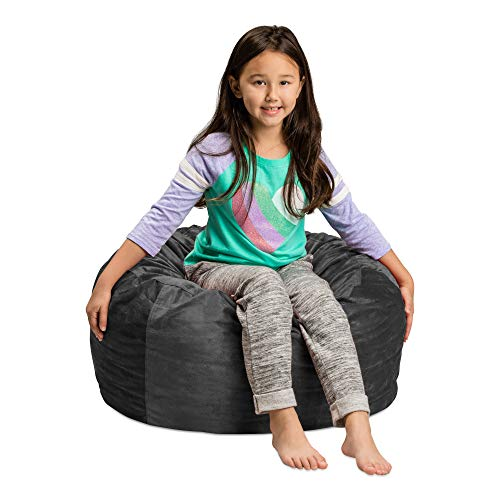 Sofa Sack - Plush, Ultra Soft Kids Bean Bag Chair - Memory Foam Bean Bag Chair with Microsuede Cover - Stuffed Foam Filled Furniture and Accessories For Kids Room - 2