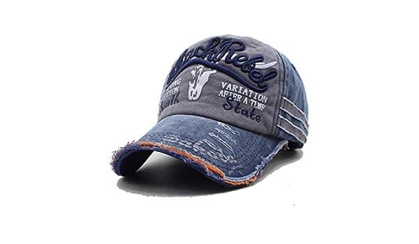 FLAMINGO_STORE Men Baseball Caps Dad Snapback Caps Bone Hats for Men Baseball Cap Navy Gray at Amazon Mens Clothing store: