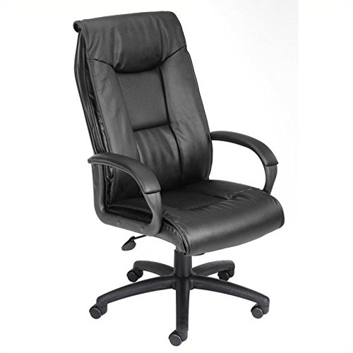 boss-office-products-b7602-executive-leatherplus-chair-with-padded-arms-and-knee-tilt-in-black