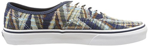 Vans Zapatillas Dress Mujer Woven White Blues U True Multicolor Authentic Chevron 1BEwF1qrx