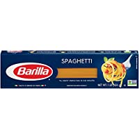 Barilla Pasta, Spaghetti, 16 Ounce (Pack of 8)