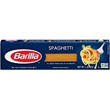 Barilla Pasta, Spaghetti, 16 Ounce (Pack of 8)