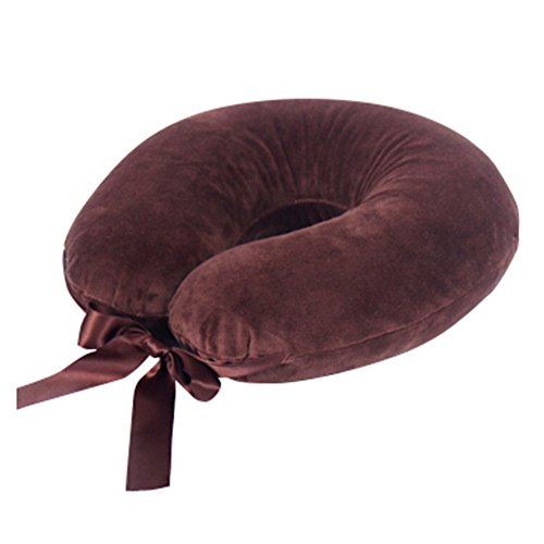 stylish-thailand-latex-neck-protector-u-shape-pillow-neck-pillow-brown