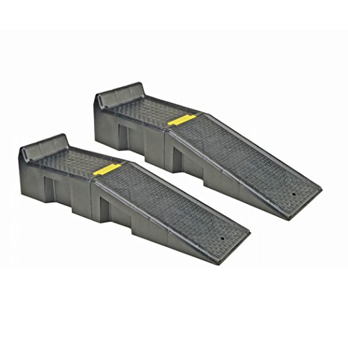 Magnum-16000 Auto Ramp Set with Built-In Safety Chock HFJ14 (Auto Chocks)