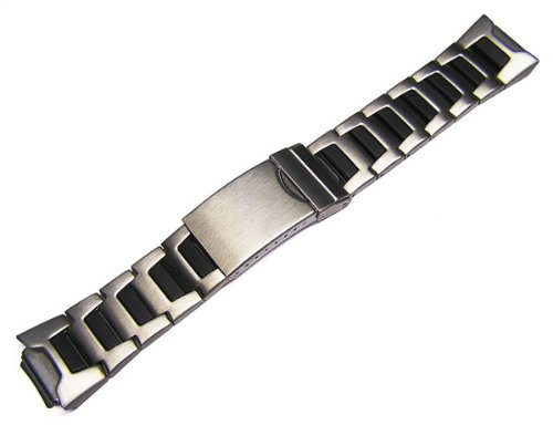 16mm Timex Metal Watch Band Bracelet for Timex 30 Lap Ironman Triathlon T53151, 53952, TX453952W