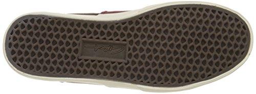 C1rca Mens Valeo Se Skateboard Shoe Tawny Port / Off White