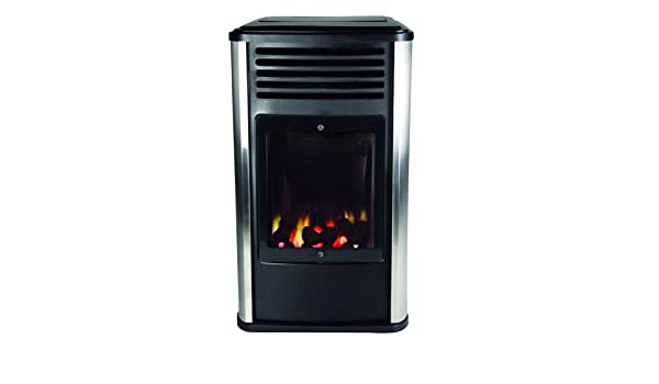 Calefactor de gas 3 kW efecto chimenea Manhattan: Amazon.es ...