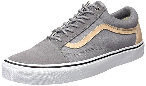 Bestelwagens Old Skool Veggie Tan Heren Leren Skate Trainers Shoes-7