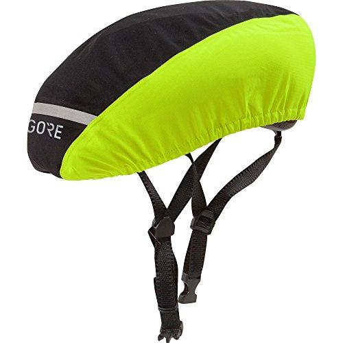 Gore Wear Waterproof Helmet Cover, C3 GORE-TEX Helmet Cover, Size: M, Color: black/neon yellow, 100238