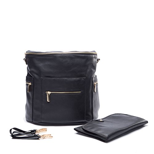 miss fong leather diaper bag backpack for daddy and moms. Black Bedroom Furniture Sets. Home Design Ideas