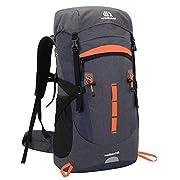 SKYSPER 50L Wanderrucksack Herren Damen Trekkingrucksäcke Wasserdicht Reiserucksack Multifunktionale Camping Rucksack…